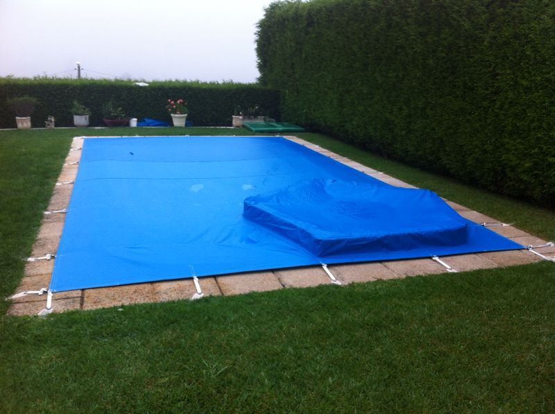 Tolgal cobertor de piscina for Lona interior piscina desmontable